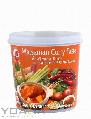 (5,98€/1kg) [ 400g ] COCK Matsaman Currypaste / Matsaman Curry Paste
