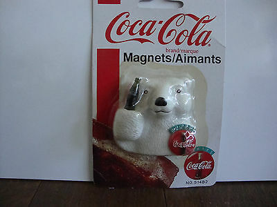 Coca-Cola Bear Holding Coca-Cola Bottle Magnet