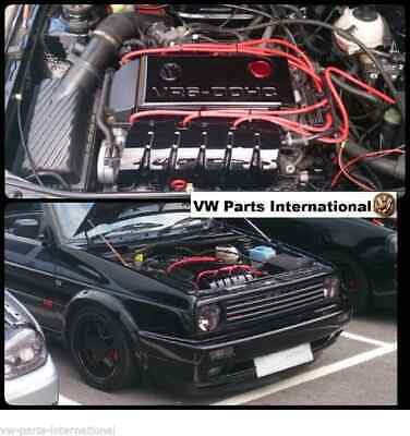 VW Golf MK2 MK3 Corrado VR6 Red Performance 10mm Ignition Leads Red Blue Black