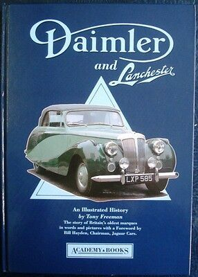 Daimler And Lanchester An Illustrated History Tony Freeman Car Book