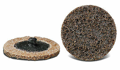 """25pcs 3"""" Premium Roll on Surface Conditioning Discs Coarse-Brown USA CGW 59506"""