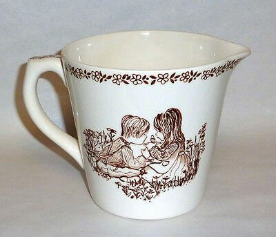 24oz Vintage 1940 Royal Crownford Ironstone Pottery Children Measuring Cup