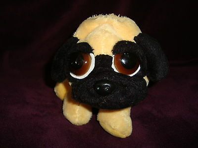 """Russ Peepers Pug Dog Pippin 8"""" Long"""
