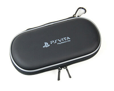 Black EVA Double Compartment hard Carry Case for PS Vita PlayStation Vita Slim
