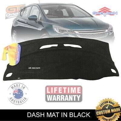 Dash Mat HOLDEN ASTRA BK R RS RS-V SERIES ALL MODELS 9/2016-2017 BLACK  DM1455