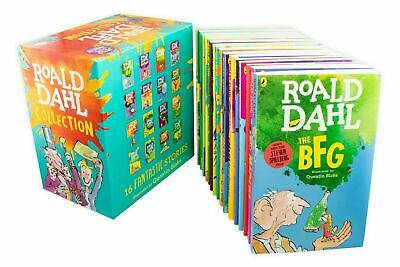 ROALD DAHL Collection 16 Books Set Phizz Wizzing Collection Book