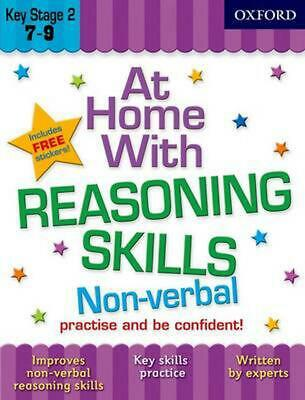 At Home With Non Verbal Reasoning 7-9: Practise and Be Confident! by Alison Prim