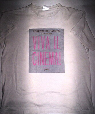 Tee Shirt Festival De Cinema Cannes 2004 Viva Il Cinema ! Hommage A Fellini