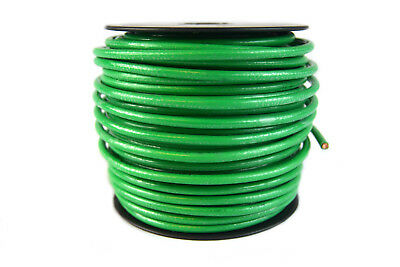 10 gauge AWG Green Ground Wire 100 ft Solid Copper UL Listed CABLE SATELLITE