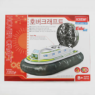 HOVERCRAFT B/O MODEL KIT Air Cushion Vehicle Academy Edukit Series Assembly Toys