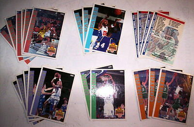Superbe Lot 23 Cartes Basket Panini Snb 1994 Francais Divers
