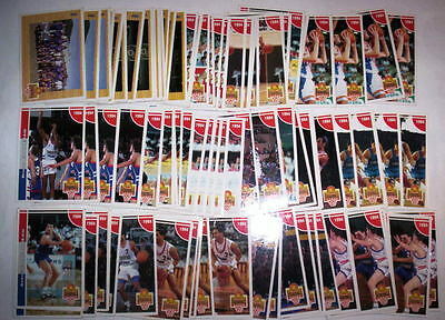 Superbe Lot 91 Cartes Basket Panini Snb 1994 Francais Special Equipe De France