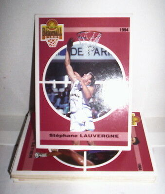 Superbe Lot 14 Cartes Basket Panini Snb 1994 Francais Special Psg Racing