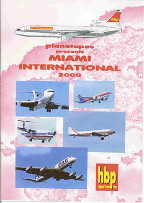 Miami International Airport 2000 Airliners Jumbos DVD