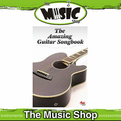 New The Amazing Guitar Songbook - Music Book with Popular Guitar Songs