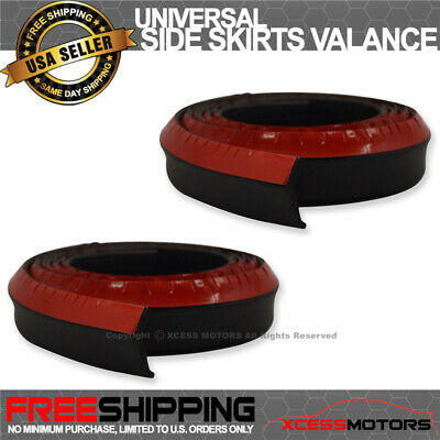 For 2X91 Inch Dodge Skirt Add-On Bodykit Valence Chin Lip In Pairs EZ To Install