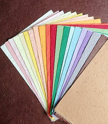 20 Sheets Mixed Colors lHandmade Saa MULBERRY PAPER Crafts, scrapbooking, Card