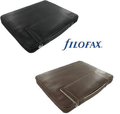 filofax HOLBORN Zipped Portfolio A4+ with Handles & Rings, Ringbuchtasche