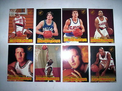 Superbe Lot 8 Cartes Basket Nba Topps Stadium Club 1995 Draft Pick