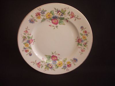 BURLEIGH WARE -BURGESS & LEIGH -TEA/SIDE PLATE -FLORAL PATTERN -c.1940