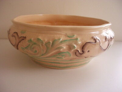 BURLEIGHWARE BOWL~BURGESS & LEIGH~DOLPHIN PATTERN