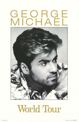 Poster: Music : George Michael - World Tour - Free Shipping - #414      Rap21 A