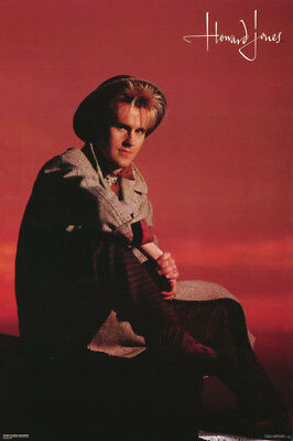 Poster :music :howard Jones - Red Background - Free Shipping !  #115  Rap24 B