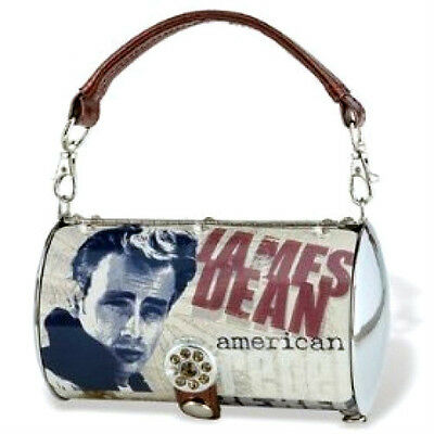 James Dean metal purse handbag tote--carry two ways NEW