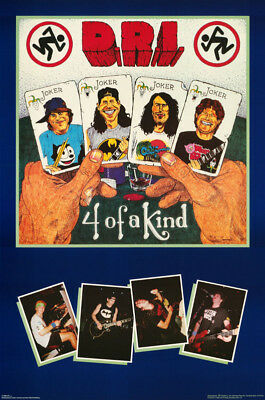 Poster :music : D.r.i. - Four Of A Kind  - Free Shipping -   Rap120 A