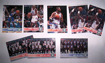 Superbe Lot 8 Cartes Basket Nba Hoops 1994 All Star Minnesota