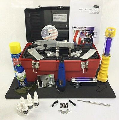 Windshield Repair kit  Auto Glass Repair System