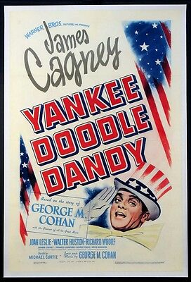 Yankee Doodle Dandy James Cagney 1942 1-Sheet On Linen