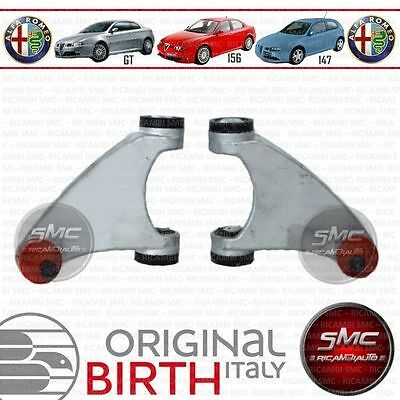 Kit 2 Bracci Oscillanti Sospensione Anteriori Superiori Birth Alfa 147 156 Gt