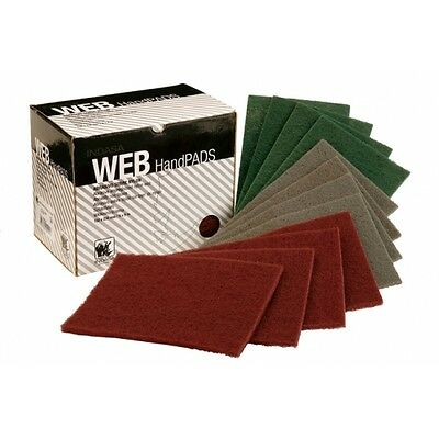 Indasa Web Hand Pads Abrasive Cleaning Scouring Scuffing Prepping Blendin Scotch