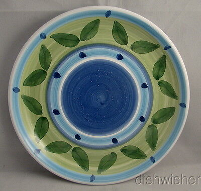 Caleca Italy BLUE MOON Hand Painted Salad Plate(s)