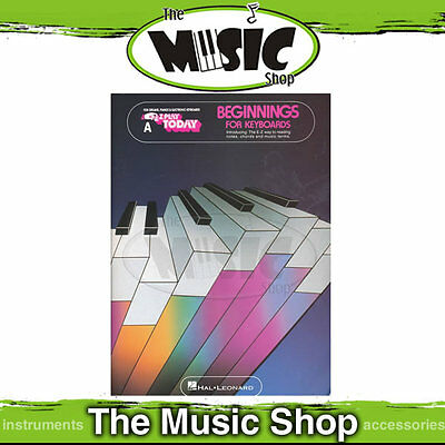 New EZ Play Beginners for Keyboard Book A - Easy Music Book for Keyboard/Organ
