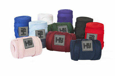 Hy Elasticated Cotton Breathable Colourful Travelling Horse Pony Tail Bandage