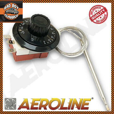 AeroLine Capillary Thermostat Cooling Radiator Fan Control Switch UNIVERSAL