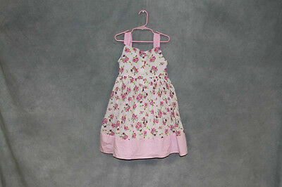 Princess by Hello Kitty too cute White & Pink Roses/Floral Dress, Size 6