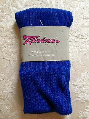 NWT Royal Blue Leg Warmers Dancewear Child Small Child Medium Ballet Tap Jazz
