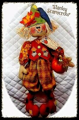 "~Primitive Raggedy ""STANLEY SCARECROW""~Pattern #115~from Ginger Creek Crossing"