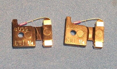 2 GMT-1/4 Fuse GMT1/4 125 Volt 1/4 Amp free shipping