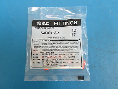 Lot of 10 SMC KJS01-32 Fitting - NEW