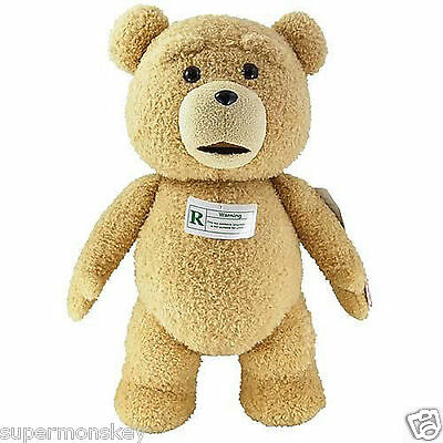 """Ted Bear Movie 24"""" PG Version  Talking Plush Figure with Sound"""