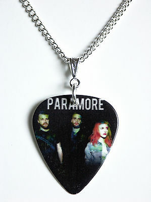 Paramore Guitar Plectrum Pick Necklace - New 2013