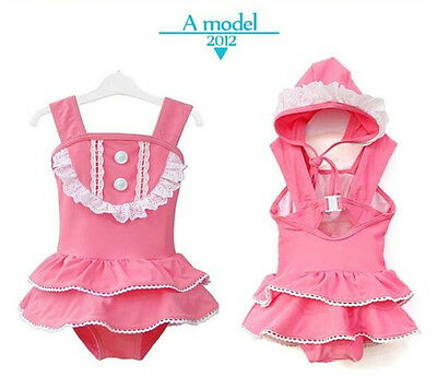 New baby girls bath suit kids swimsuit Swimwear  princess  Bikini 1188