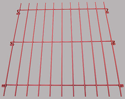 Window Security Grill Bars For Home Garage Office Primed Red Oxide