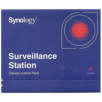 Synology IP Camera 4-License Pack Kit for Surveillance Station - DS1513+ DS713+