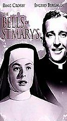 New! The Bells of St. Mary's (VHS, 1993, Special Edition) Bing Crosby Christmas