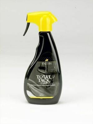 Lincoln Total Tack Care - Horse Saddle Bridle Tack Cleaning Spray - 500ml